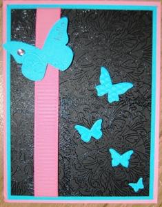 Butterfly Embosslit die