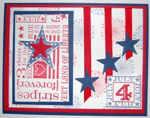 Red, white & blue card 3
