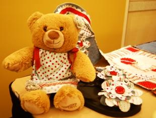 Fabric ~ bear