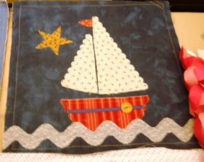 Fabric ~ boat