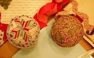 Fabric ~ ornaments