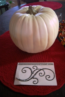 Pumpkin w Jewels