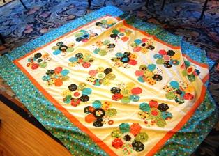 Martha's Quilt using 5-Point Star