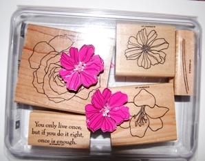 Fifth Avenue Floral stamp set