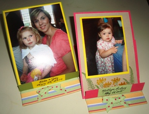 Janie's easel cards w two pictures