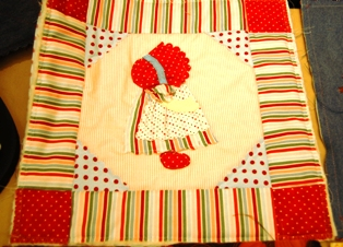 Fabric ~ Sunbonnet Sue