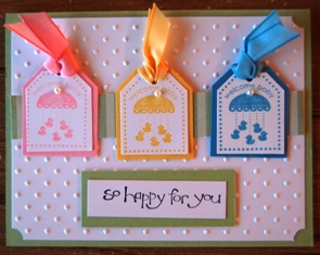 SAB baby card