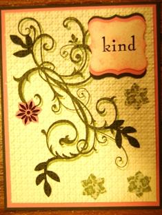 Billi's card ~ embedded