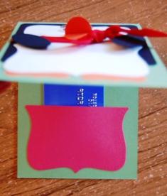 Penquin gift card inside