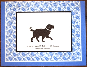 Dog Card 2