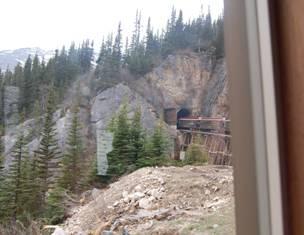 WPYR tunnel through mt