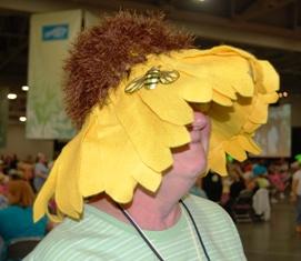 Garden Party daisy hat