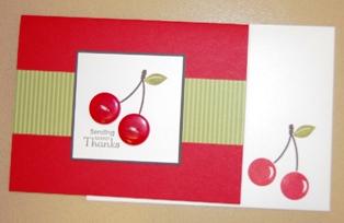 Button Buddies cherries