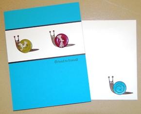 Button Buddies snail