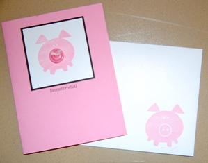 Button Buddies Pig