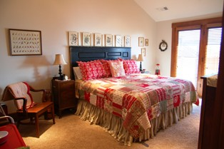 Shelli's apartment guest room
