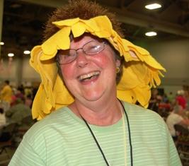 Garden Party daisy hat 2
