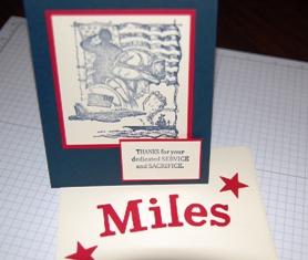 Miles Baker ~ card