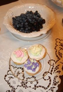 Tea ~ blueberries