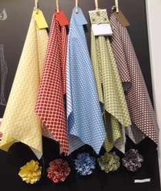 Fabric display at convention