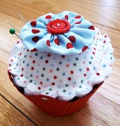 Cupcake Pincushon