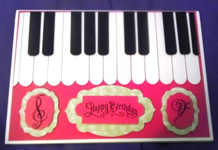 Catie's Piano Card