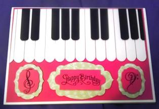 Catie's Piano Card
