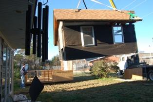 Garden House moving 7
