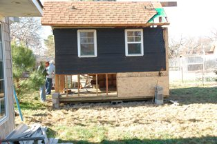 Garden House beginning of reconstruction 9