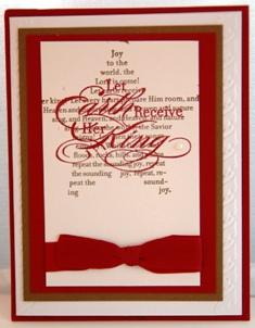 Melissa Burroughs card