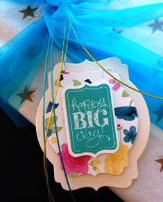 Catie's gift tag
