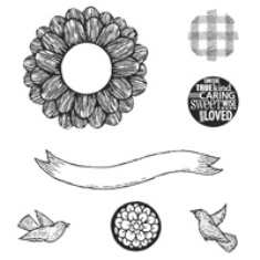 Decorate a Daisy stamp set
