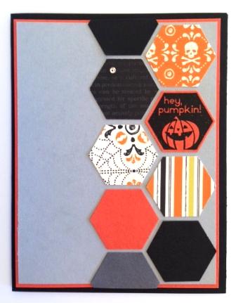 Halloween punch card