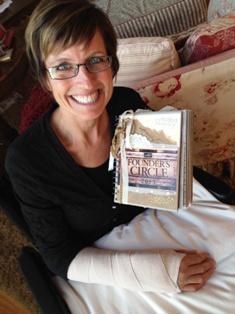 Shelli & her Founder's journal