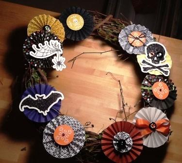 Halloween Wreath ~ Katy
