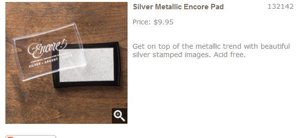 Silver Encore Pad