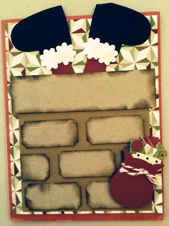Dawn's Santa card