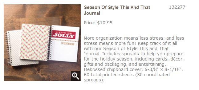 Season of Style Journal