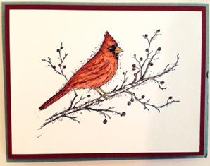 Christmas ~ cardinal 2