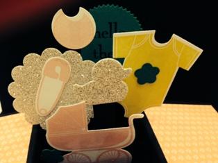 Card in a box Sarah closeup