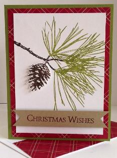 Ornamental Pine plaid
