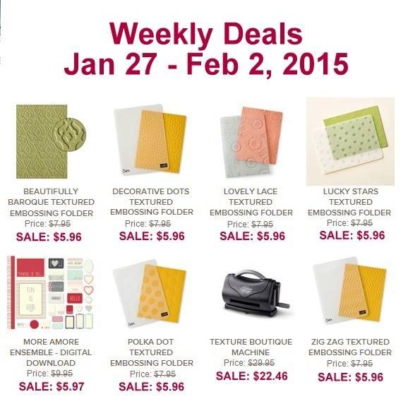 Weekly Deals Jan 27