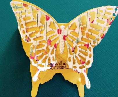 3-D Butterfly for swap