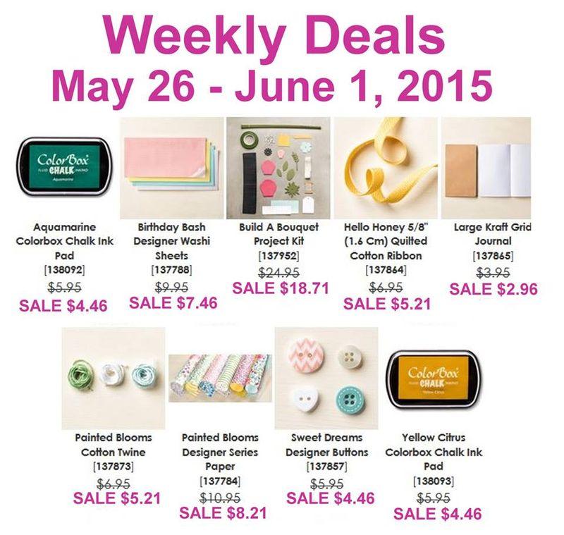 Weekly Deals through June 1