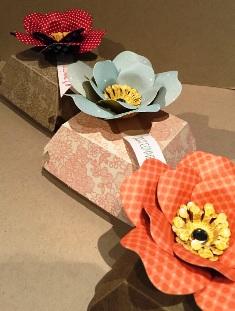 Hamburger box flower