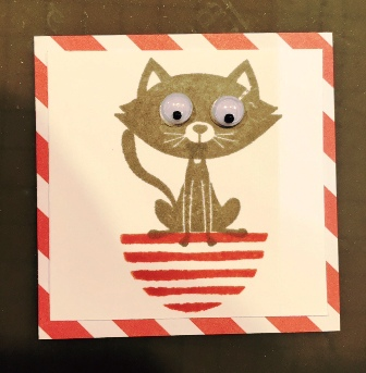 Cat Card Candy