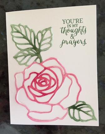 Rose Wonder watercolor