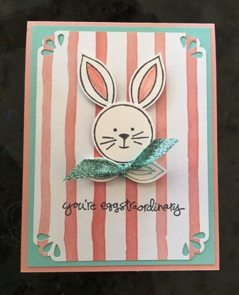 Bunny for stamp club