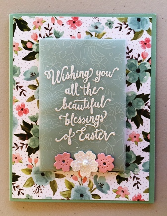 Easter card from Marion