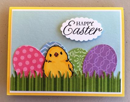 Easter card from Debra & Mr. Charlie